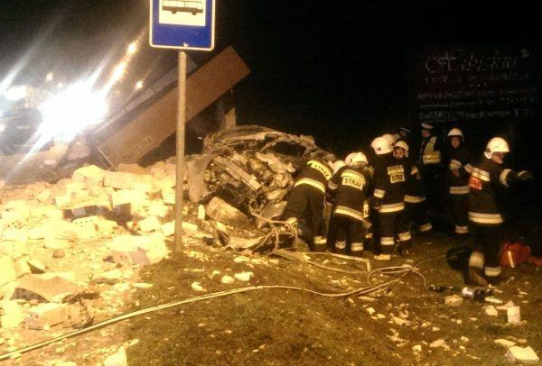 Śmiertelny wypadek w Baryczce