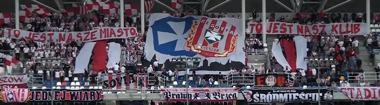 Wrzesień 2012 - 74. derby Rzeszowa. Resovia pokonuje Stal Rzeszów 1:0