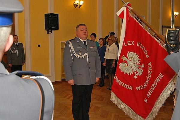 Foto: Komendant Wojewódzki Policji w Rzeszowie inspektor dr Krzysztof Pobuta