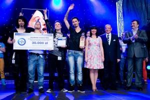 Zwycięzcy z 2013 roku - zespół Call Me Steve