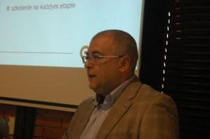 Prezes firmy Synergia Piotr Lutek