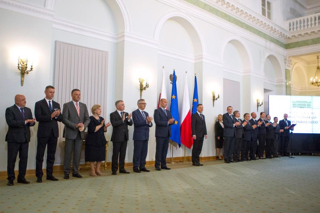 - Praca samorządowca to działalność, która wymaga serca, to służba - mówił prezydent we wtorek na spotkaniu z samorządowcami (fot. prezydent.pl)