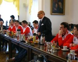 Prezydent nagrodził siatkarzy Asseco Resovii