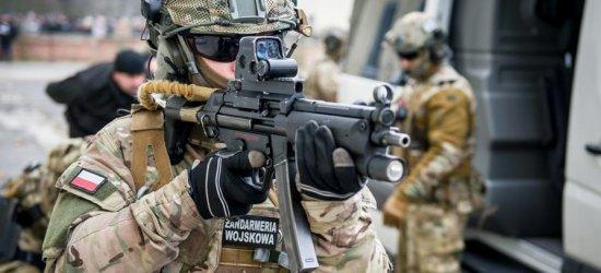 Straż Graniczna i Żandarmeria Wojskowa szkoliła się na Podkarpaciu (ZDJĘCIA)