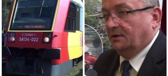 """ZAGÓRZ: Wielka szansa dla kolei. Czy wkrótce ożyją połączenia z Ukrainą i Słowacją? """"Będą efekty tej wizyty ministra"""" (FILM, ZDJĘCIA)"""