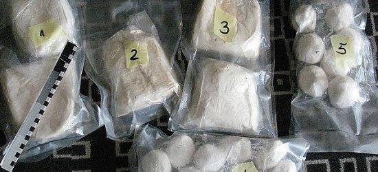 CBŚP zlikwidowało nielegalny kanał dystrybucji narkotyków (FILM, ZDJĘCIA)