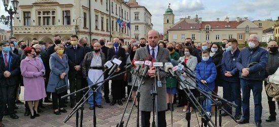 Opozycja ogłasza wspólnego kandydata na prezydenta Rzeszowa (VIDEO)