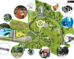 Mini zoo, ogród botaniczny, strefa edukacyjna, strefa gier i zabaw… [WIZUALIZACJE]