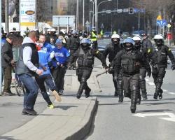 Kibice Resovii w drodze na derby Rzeszowa! (ZDJĘCIA)