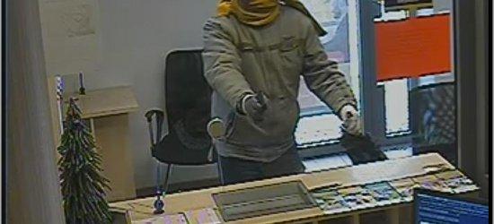 Ten mężczyzna napadł na bank. Poznajesz go? (ZDJĘCIA)