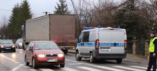 Brudne koła w ciężarówce? Zapłacisz mandat