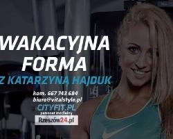 """W Rzeszowie też mamy Chodakowską! Problem z """"boczkami"""", za mały biceps? Podejmij wyzwanie z Katarzyną Hajduk"""