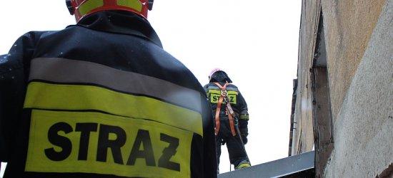 Zapaliła się szkoła. 130 uczniów ewakuowanych