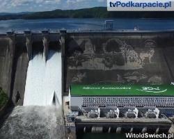 RZESZÓW24.PL: Eksplozja wody w Solinie. Zobacz wyjątkowe zdjęcia z lotu ptaka (FILM)