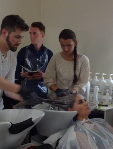 Rzeszowski salon fryzjerski w programie TVN