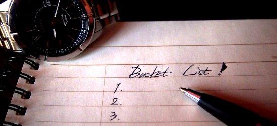 BLOGI: Lista rzeczy, które trzeba zrobić przed śmiercią. Masz już swoją?