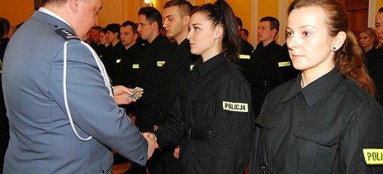 KWP w Rzeszowie ma 45 nowych policjantów