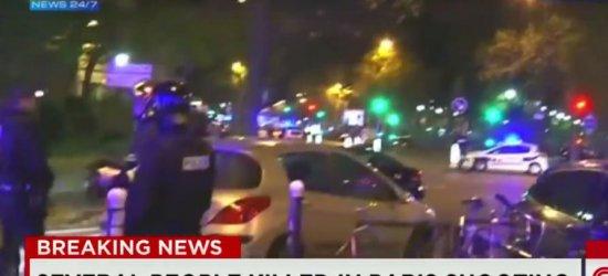 """""""Wysadźcie Francję w powietrze! Zabijcie wszystkich niewiernych!"""". Co najmniej 140 ofiar zamachów w kilku miejscach Paryża (VIDEO)"""