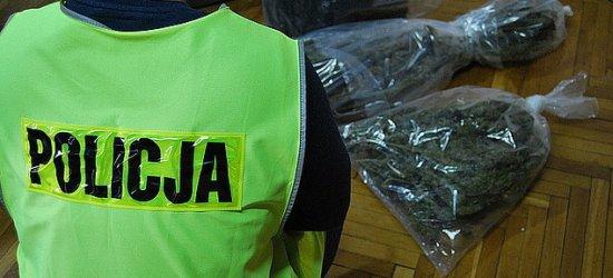 Policjanci przechwycili 2 kg marihuany