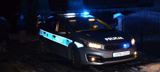 Nocne utrudnienia w Rzeszowie. Wjazd na czerwonym i zderzenie