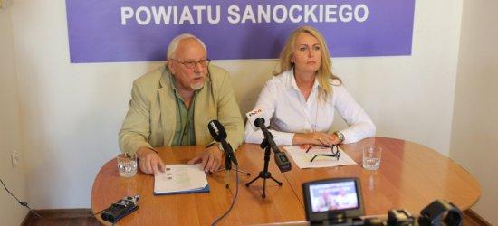 """EUROPOSEŁ ŁUKACIJEWSKA: """"Skandal w wykonaniu zarządu Autosanu"""".""""Kłamał też poseł Rzońca"""" (VIDEO, ZDJĘCIA)"""