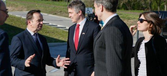 Ambasador USA odwiedził Podkarpacie