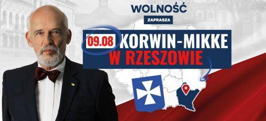 Janusz Korwin-Mikke w Rzeszowie już dziś