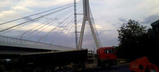 Nowy most w Rzeszowie. Trwają prace końcowe (ZDJĘCIA)