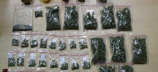 100 gramów marihuany w domu 23-latka (ZDJĘCIA)