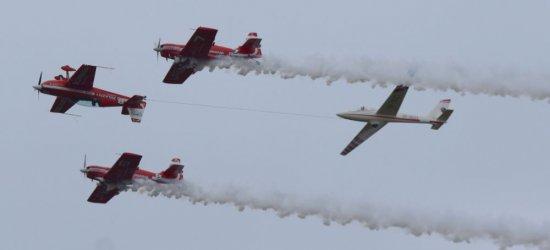 KROSNO: Pokazy lotnicze w obiektywie. Efektowne samoloty, inscenizacja z I Wojny Światowej (FILM, ZDJĘCIA)