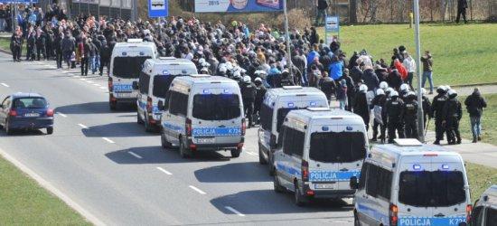PIŁKA NOŻNA: 200 policjantów zabezpieczy derby Rzeszowa (FILM)