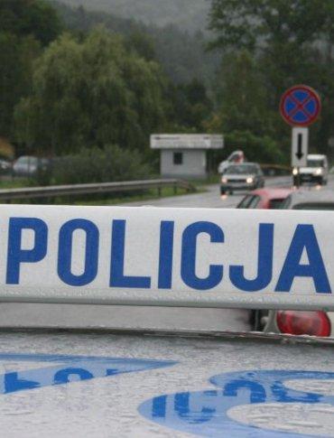 Pijany 28-latek w BMW wjechał do rowu w okolicach Jasła [ZDJĘCIA]
