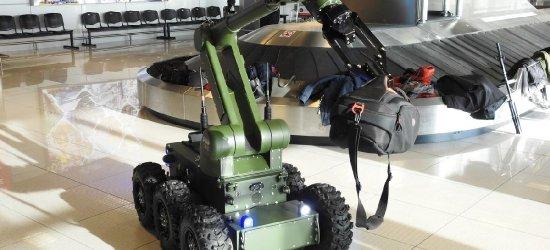 Przejście graniczne w Rzeszowie – Jasionce otrzymało robota pirotechnicznego (ZDJĘCIA)