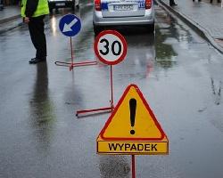 AKTUALIZACJA: Wypadek w Trzebownisku. DK nr 19 już przejezdna