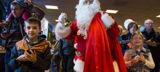 Mikołaj wylądował na lotnisku w Jasionce [FOTO]