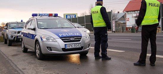 Kierowcy wciąż zapominają o zapinaniu pasów. Policjanci kontrolują