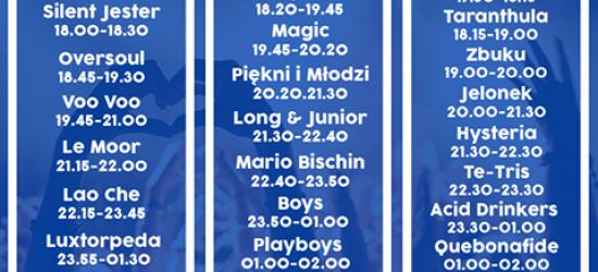 Dziś rozpoczynają się Juwenalia Uniwersytetu Rzeszowskiego. Zobacz kto i kiedy zagra.