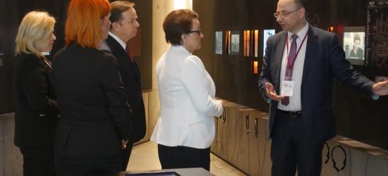 Minister edukacji odwiedziła Podkarpacie
