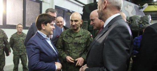 Szydło w Stalowej Woli. Polska będzie zbroić się na Podkarpaciu