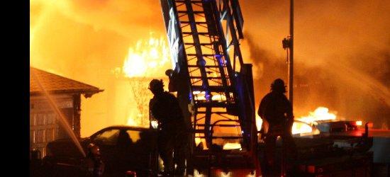 Pożar na Podkarpaciu. Jedna osoba nie żyje