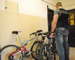 Kolejne zarzuty za kradzieże rowerów. Tym razem 30