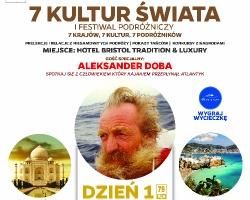 I Festiwal Podróżniczy 7 Kultur Świata