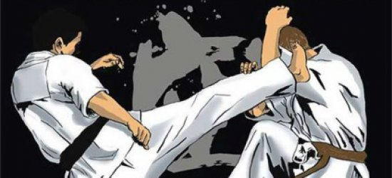 Karate w hali Podpromie