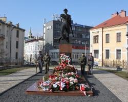AKTUALIZACJA: Zobacz, jak w Rzeszowie uczczono 96. rocznicę śmierci płk Leopolda Lisa-Kuli [FILM, ZDJĘCIA]
