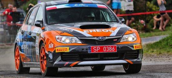 Słobodzian i Wróbel na drugiej pozycji w klasyfikacji ERC2 w 26. Rajdzie Rzeszowskim (ZDJĘCIA)