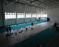 Największa hala sportowa praktycznie gotowa. Choć z opóźnieniem