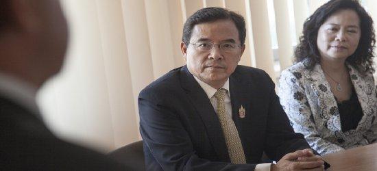 Delegacja tajwańska w urzędzie marszałkowskim (ZDJĘCIA)