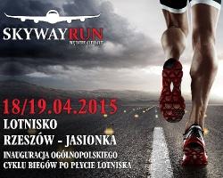 """""""Skywayrun"""", czyli nocny bieg po… płycie lotniska w Jasionce. Zapisy trwają!"""