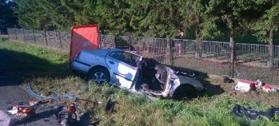 Tragiczny wypadek w Kołaczycach. Nie żyją trzy osoby