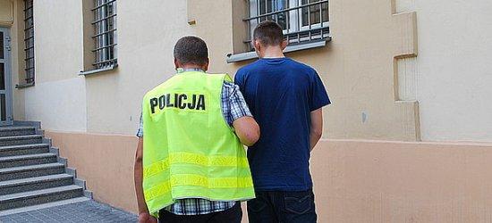 Poszukiwany sprawca rozboju w rękach policji